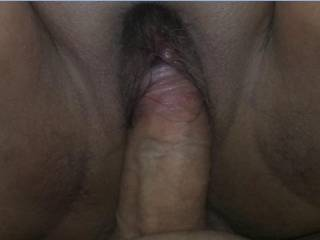 Nancy\'s small and tight wet pussy getting my cock