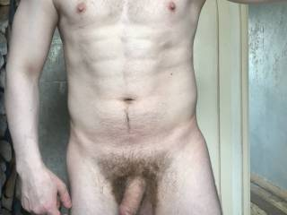 Been hard at work trying to get in shape....(excuse the hairy bush)