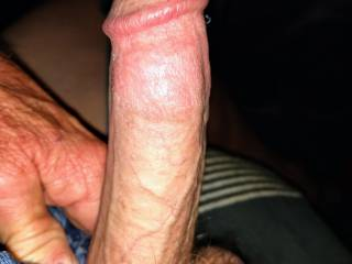 Taken a minute ago Need to cum badly My cock is ready to fill your pussy with my cum