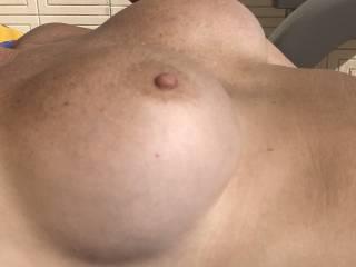 Perky tits.