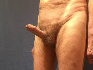 You have me so aroused that the veins on my cock are standing out clearly.
