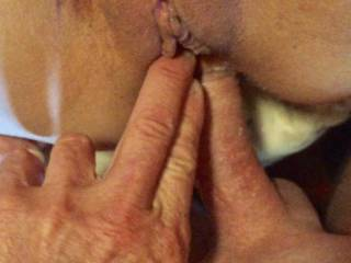 love to lick suck on me and fuck especially anal fingering ass pussy same time DP is a better description
