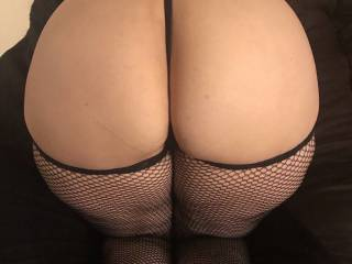 Pull gstring out and lick or stick?