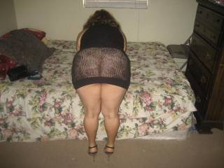 I love her ass and I also love her thick, shapely and well toned legs. Would love to get my hands on this woman's HOT body ..... fucking her, would be the icing on the cake!!!