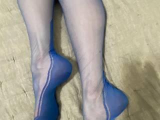 Nicole looking stunning and beautiful as always. Wearing silk, vintage Cubanheel stockings...