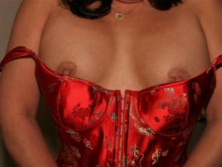 Do you like the design of my corset?