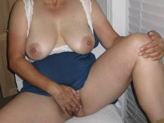 Masturbating during a recent video chat here on Zoig!