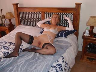 Hot, horny and waiting for a big cock