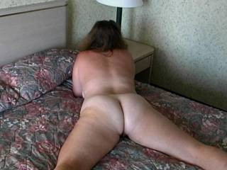 Wow...What a sweet ass...love to play with her