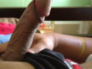 Your cock is so sexy looking! I look at your thickness. then I look at your thumb, and there is no doubt that you have a wonderful thickness. From your balls to the tip of your cockhead!  HD