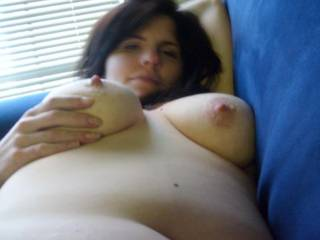 how about a nice tit fuck and some hot cum on those nice nipples