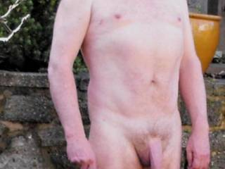 hung cock outdoors in uk