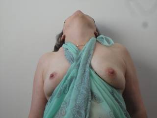 I would enjoy sucking on your breasts and making your nipples hard under my touch