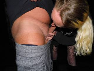 She did enjoy sucking his cock