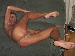 I'd love to slide my cock deep in your ass and fill you with my cum then climb on your cock and have you shoot your load in my ass... then 69 and lick each other clean