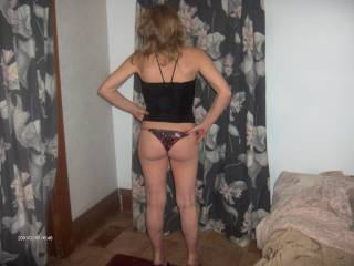Lucky hubby! That is one sexy ass!