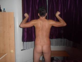My body and ass:P