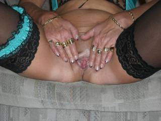 mmm yummy love to lick it for you rill you cum tyour sweet juices xx