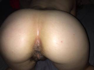 your arse beautiful,,,,i would love to tongue both holes before sliding my hard cock in and out of both till I shoot my cum al over both holes and watch it drip down