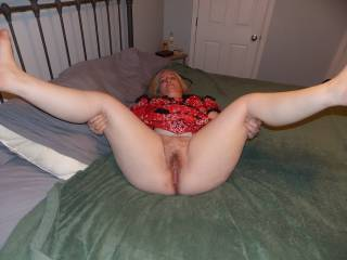 I'd LOVE to eat your pussy while you enjoyed eight or nine orgasms!!! Then, I'd slide my rock-hard dick into your wett, hott and tight pussy and fuck you hard for a very long time!!! Interested?