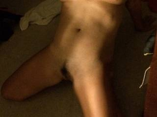 What a beautiful body! I want to suck your beautiful tits and slowly work my way down your whole body and feast on your pussy!