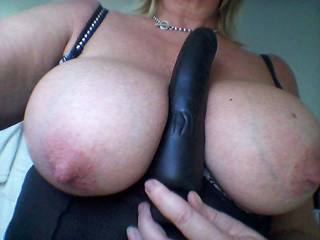 Awesome tits and nipples darling.  Wish that was my cock between those fantastic tits.
