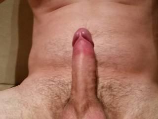 A nice shot of my hard dick