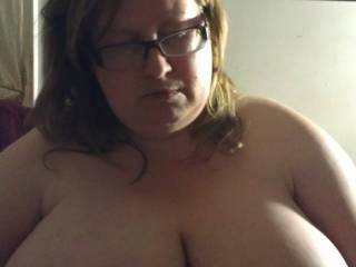 My hot wife posing for a pic just before bed