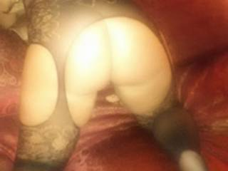 Grabbed her hips and fucked her forever... filled that pussy full with thick cum!