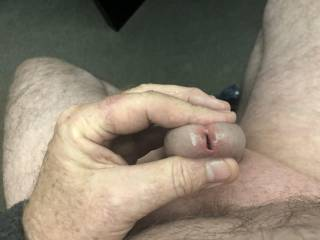 Who wants to pinky finger my hole?
