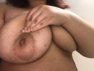 Love sucking on her tits