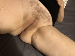 He just trimmed my mature pussy. What should we do next???