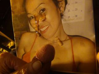 a tribute to Myra and 2malibogs a pretty lady jizzed nicely  who is next