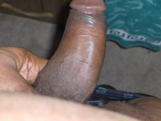 Your Hard BLACK Cock in my Mouth and I assure you I will SUCK on it and make you CUM. Then I will Gladly SWALLOW all of your warm SEED.. YUMMY...  Love and Kisses, Maryann