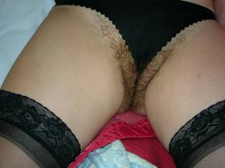 that is such a nice one. her pussy just looks sooo awesome. is there anything better than a nice natural pussy. great!! please more
