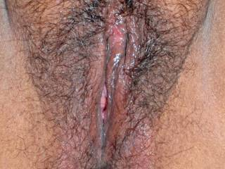 My wife's sexy wet and juicy pussy!