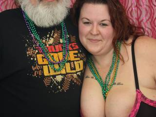 Taken at a swingers valentines party