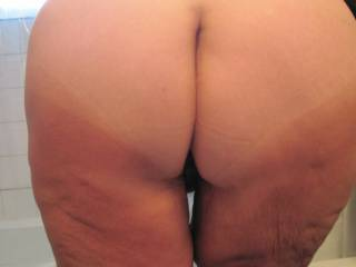bending over for someone to spread my cheeks and slip a hard cock into my ass