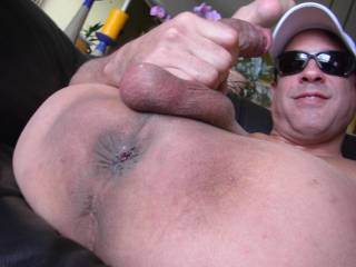 Yeah!  want to lick your hot hole and suck your cock til you shoot your load down my throat!