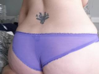 Your ass looks so sexy love to pull your panties off and lick your hot pussy mmm