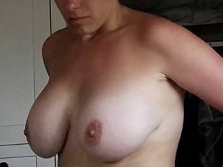 tan lines from being on the beach. You could add some more white lines on my tits? A few of you boys emptying your hard cocks on my chest while i wait on my knees would make me feel so hot