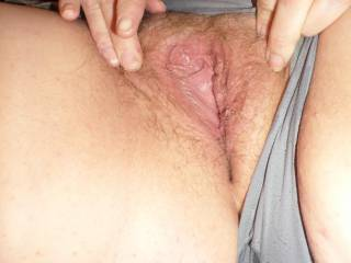 he shot a good load deep in my hairy pussy