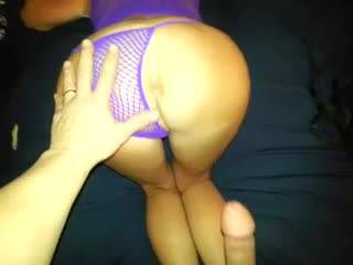 Fucking the wife doggy style