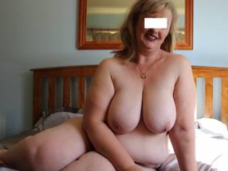 Three pics of my big, soft, bbw tits.