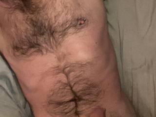 Hairy man, anyone like em hairy?