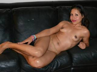 What would your next move if I let you in my house, introduced you to my Sexy wife and you saw her on the couch like this?