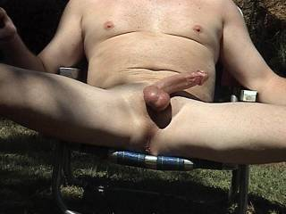 Lov to lick you from the tip of your cock down to you rosebud