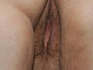Hairy Pussy BBW before I give her what she came for