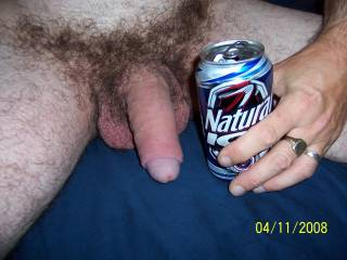 That\'s me, 100% natural, even after a hard day at work. Complete with foreskin and hair. It\'s soft in this pic and I\'m looking for a lady to get me hard