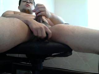 I use a dildo on my ass for the first time ever, felt amazing. Any girls want to peg me?